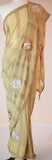 Beautiful Olive Green Georgette Saree
