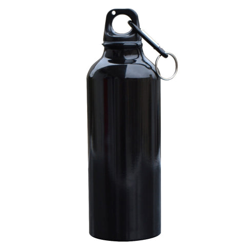 500ml Aluminum Alloy  Water Bottle With Carabiner