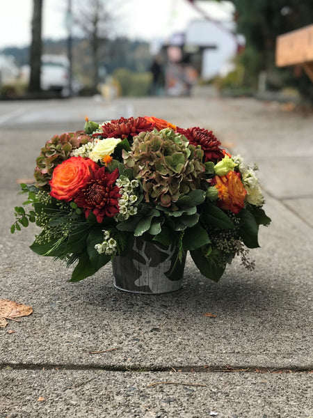 Fall Tones Vase Arrangement