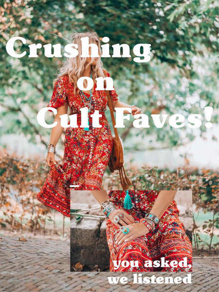 Crushing on Cult Faves!