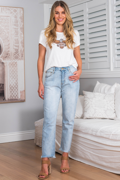 Denim For Days ~ Add Edge To Your Boho Outfit