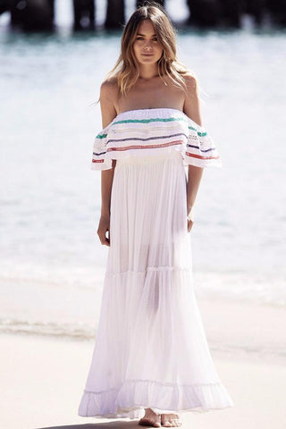 Karlie Off the Shoulder Maxi Dress
