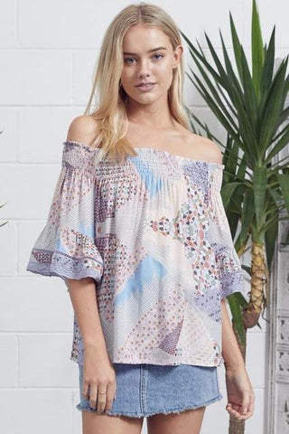 Magic Moments Off The Shoulder Top