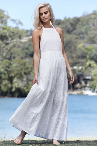 Lucy Vintage Maxi Dress