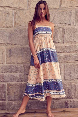 Midsummer Nights Midi Dress