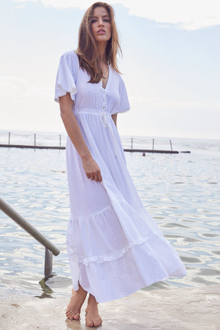 Ashland White Maxi Dress