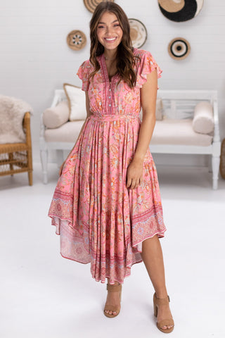 Savy - Castaway Maxi Dress - Pink