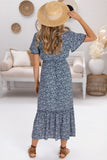 Tiana Maxi Dress - Navy