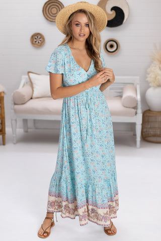 Sol - Alyssa Maxi Dress - Blue