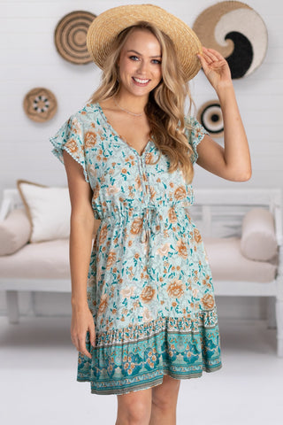 Zulu - Paloma Mini Dress - Green