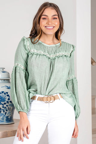 Aden Top - Green
