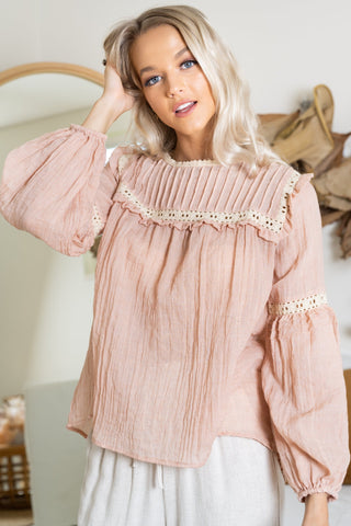 Aden Top - Blush