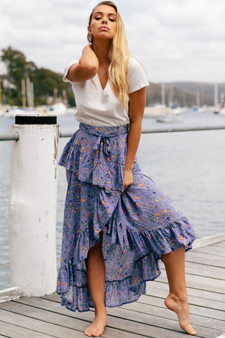 Good Vibrations Maxi Skirt