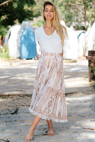 Downtown Maxi Skirt