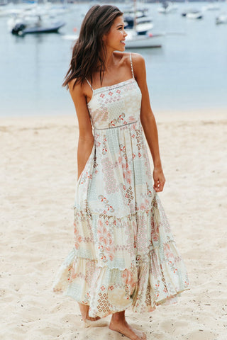 Billie - Rising Sun Maxi Dress