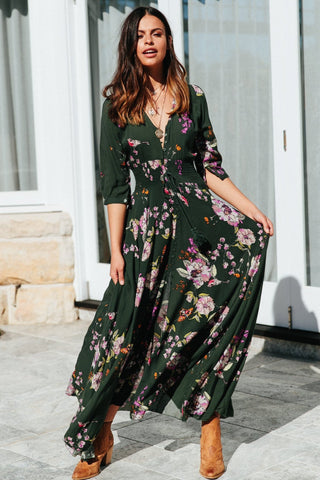 Wild World Maxi Dress