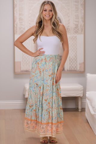 Zaliah Maxi Skirt/Midi Dress