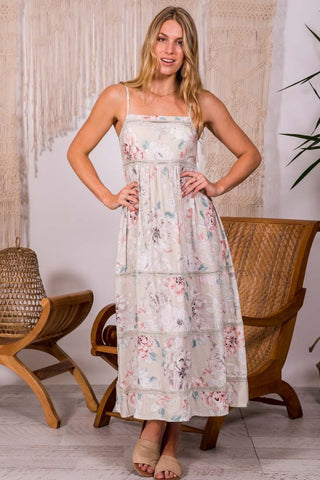 Heidi - Empire Maxi Dress
