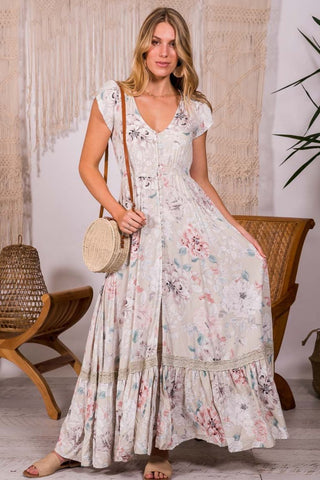 Carmen - Empire Maxi Dress