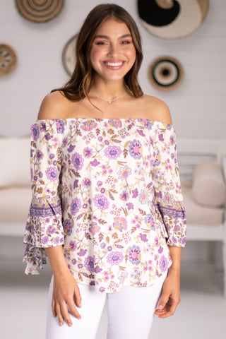 Aida - Petal Off The Shoulder Top