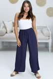 Aadi Pants - Navy