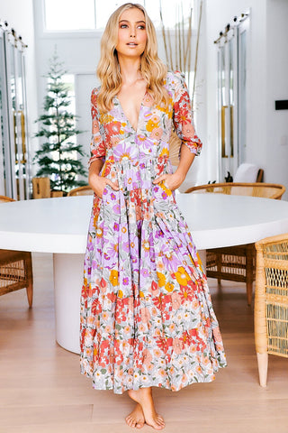 Blooming Bouquet Maxi Dress