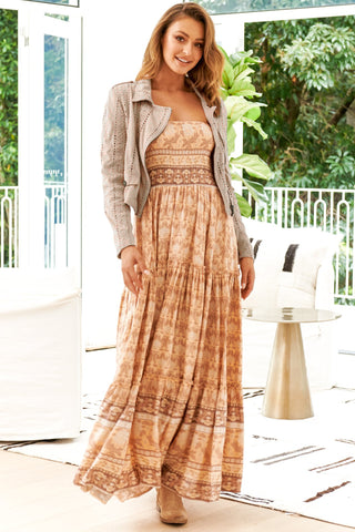Alyssa Maxi Dress - Burnt Orange