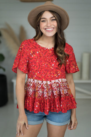 Spirit Top - Red