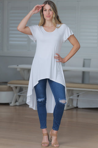 Auden Top - White