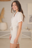 Echo Playsuit - Sand
