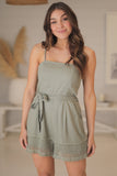 Arizona Playsuit - Khaki