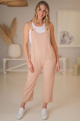 Hendry Jumpsuit - Brown