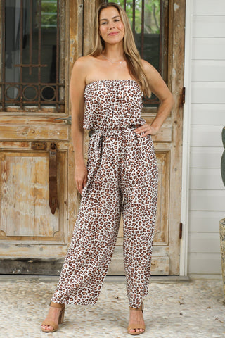 Pacey Jumpsuit - White