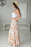 Dominica Maxi Skirt - Cream