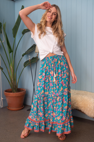 Narcissus Maxi Skirt