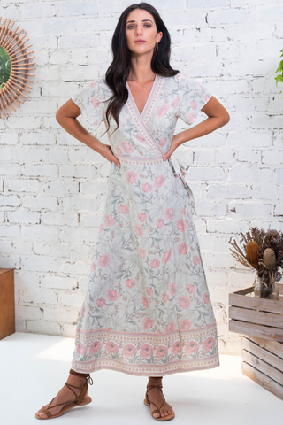 Layton Wrap Maxi Dress