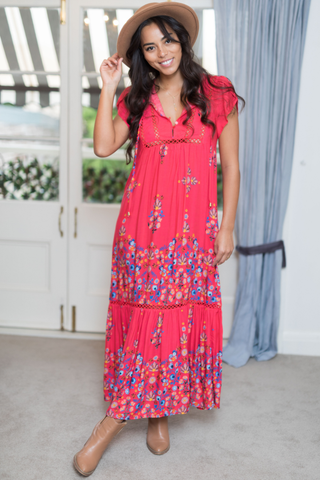 Valerie Pinacolada Maxi Dress
