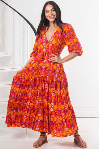 Carmen - Norah Maxi Dress