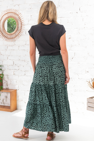 Raining Flowers Maxi Skirt