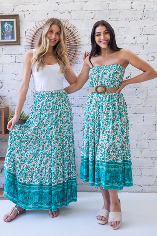 Gimlet Maxi Skirt/Midi Dress