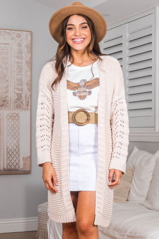Fern Cardigan - Cream