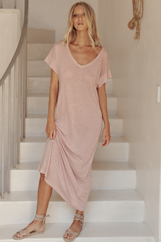 Avalon Dress - Rose