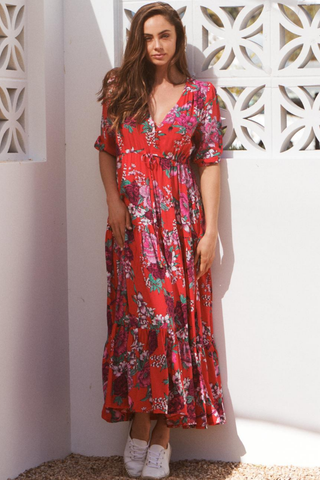 Tessa - Moulin Rouge Maxi Dress
