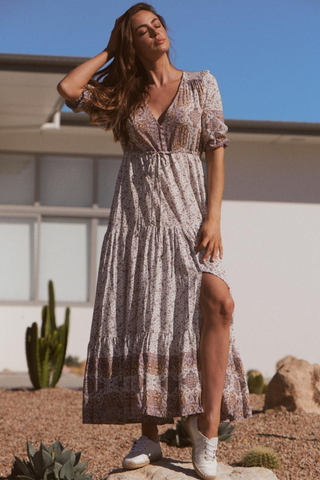 Tessa- Lulu Maxi Dress