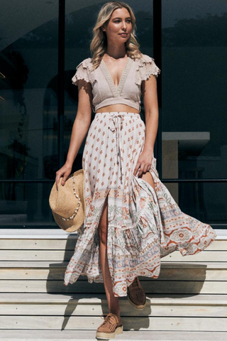Peaches Maxi Skirt