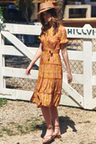 Saffron Midi Dress