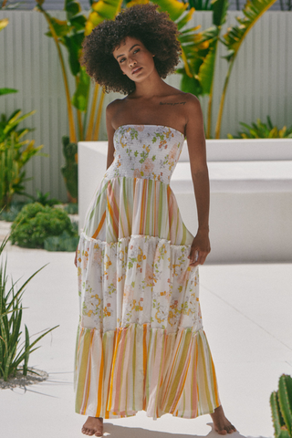 Salsa - Splice Strapless Maxi Dress
