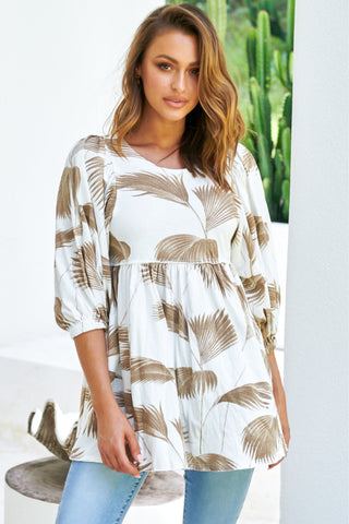 Tami - Ivory Palm Top