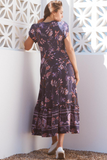 Purple Rain Maxi Dress