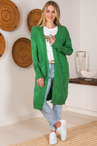 Archer Cardigan - Green